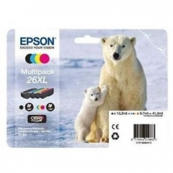 Epson 26XL, T2636, multipack 4 kusy T2621, T2632, T2633, T2634, C13T26364010