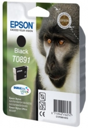 Epson T0891, 5,8ml, black - original